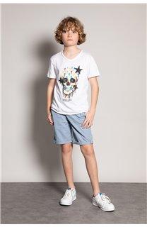 T-shirt DRIPPY Boy S20181B (51087) - DEELUXE-SHOP