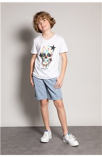 T-shirt DRIPPY Boy S20181B (51088) - DEELUXE-SHOP