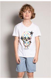 T-shirt DRIPPY Boy S20181B (51089) - DEELUXE-SHOP