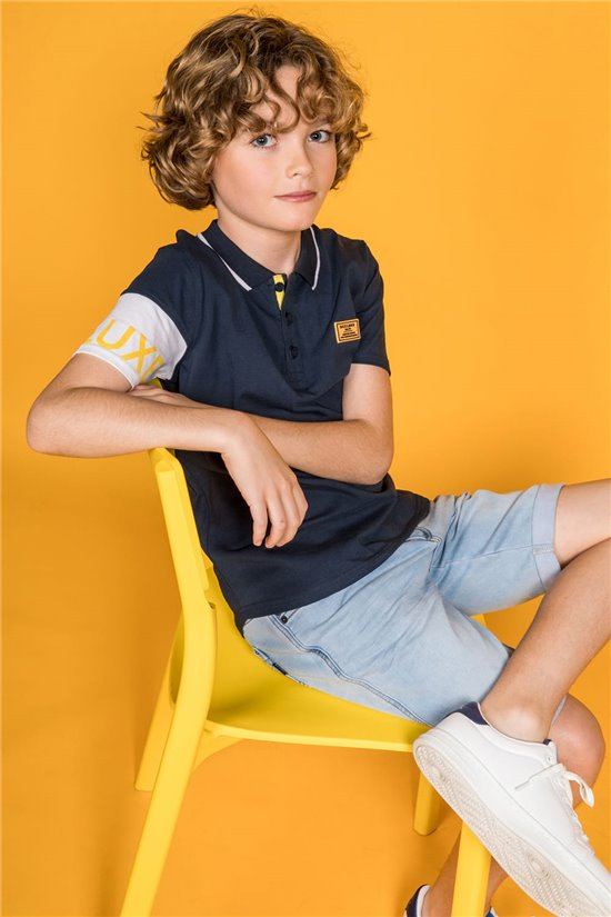 Polo shirt Polo shirt GUILITO Boy S20215B (51092) - DEELUXE-SHOP