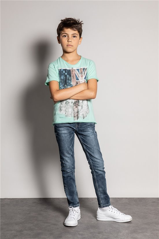 T-shirt FLAGY Boy S20116B (51171) - DEELUXE-SHOP