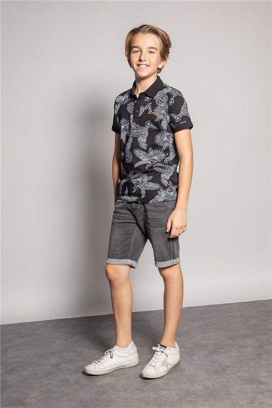 Polo shirt PAGUITO Boy S20230B (51247) - DEELUXE-SHOP