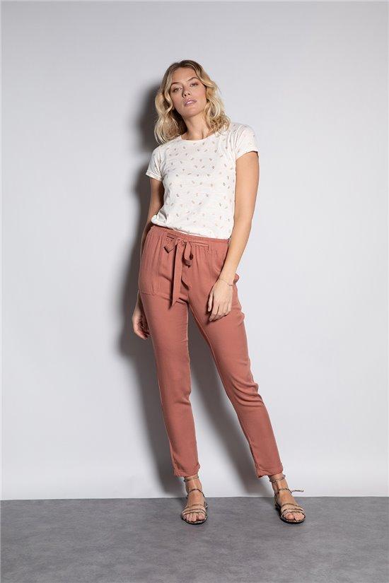 Pantalon ELIDA Femme S20725W (51291) - DEELUXE