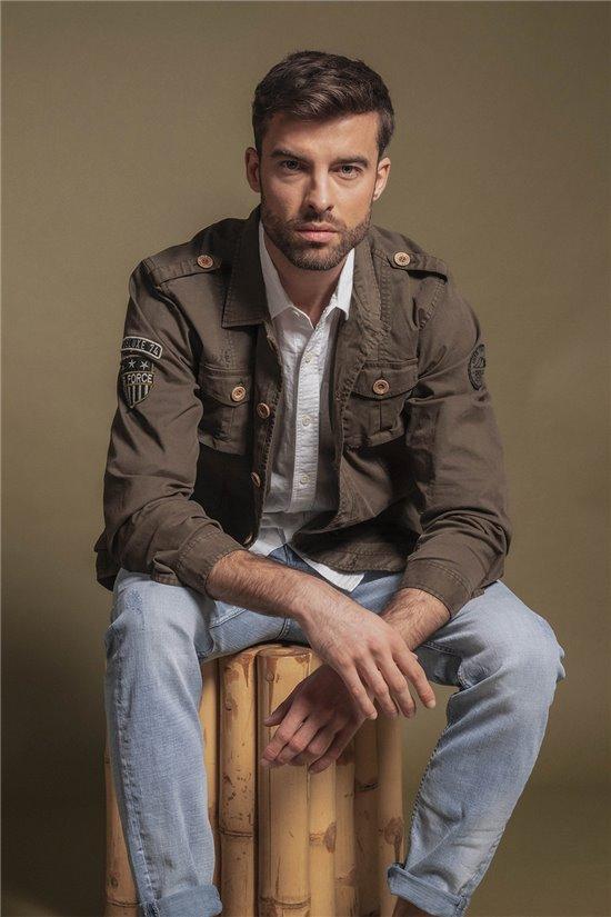 Jacket Jacket AFRICA Man S20622 (51491) - DEELUXE-SHOP