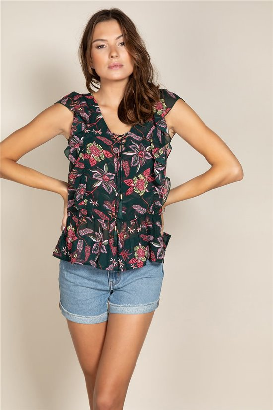 Blouse LISON Woman S20409W (51624) - DEELUXE-SHOP