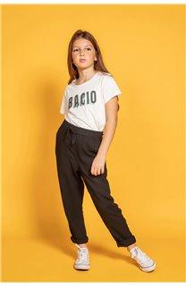 Pant ELIDA Girl S20725G (51643) - DEELUXE-SHOP
