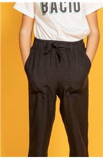 Pant ELIDA Girl S20725G (51647) - DEELUXE-SHOP