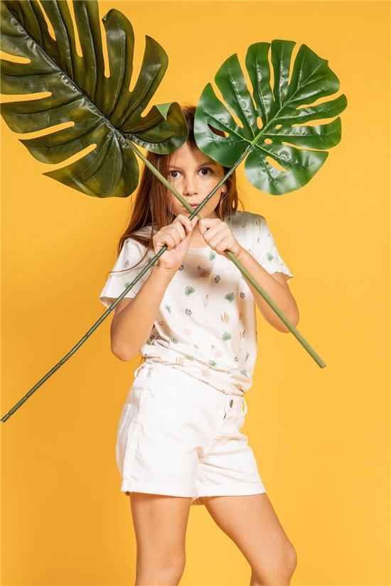 T-shirt T-shirt ELINA Girl S20133G (51658) - DEELUXE-SHOP