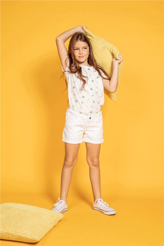 T-shirt ELINA Girl S20133G (51658) - DEELUXE-SHOP