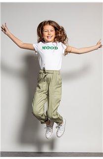 T-shirt MOOD Girl S20136G (51669) - DEELUXE-SHOP