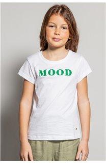 T-shirt MOOD Girl S20136G (51670) - DEELUXE-SHOP