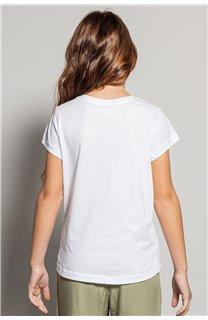 T-shirt MOOD Girl S20136G (51671) - DEELUXE-SHOP