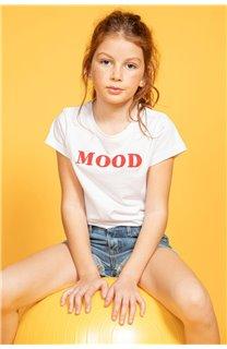 T-shirt MOOD Girl S20136G (51673) - DEELUXE-SHOP