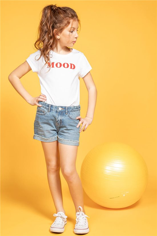 T-shirt T-shirt MOOD Girl S20136G (51668) - DEELUXE-SHOP