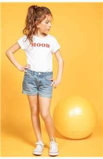 T-shirt MOOD Girl S20136G (51674) - DEELUXE-SHOP