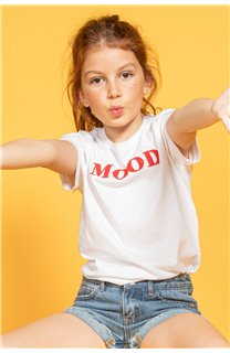T-shirt MOOD Girl S20136G (51675) - DEELUXE-SHOP