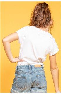 T-shirt MOOD Girl S20136G (51676) - DEELUXE-SHOP