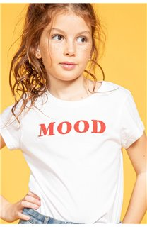 T-shirt MOOD Girl S20136G (51677) - DEELUXE-SHOP