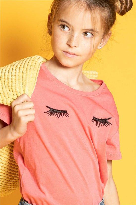 T-shirt CILIA Girl S20122G (51678) - DEELUXE-SHOP