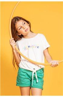 T-shirt GLADYS Girl S20127G (51695) - DEELUXE-SHOP