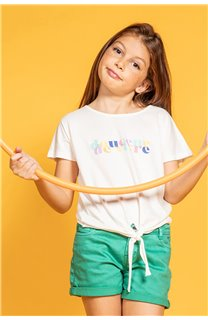 T-shirt GLADYS Girl S20127G (51697) - DEELUXE-SHOP