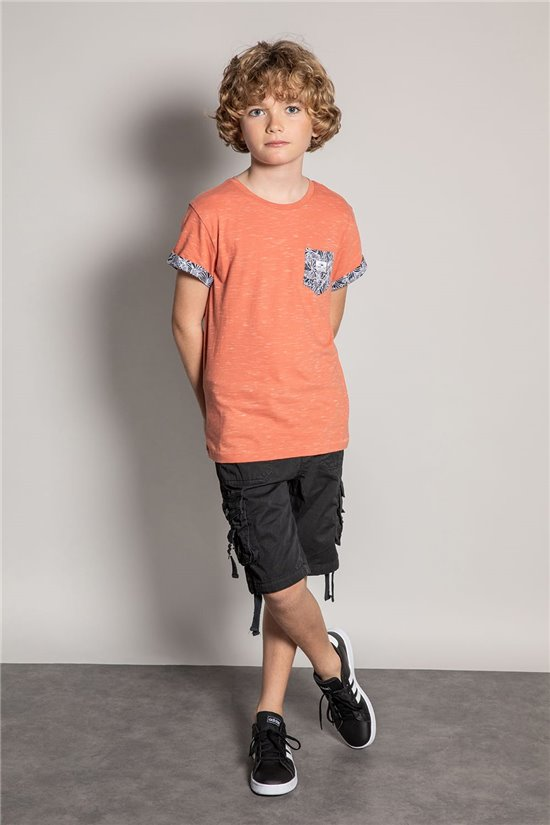 T-shirt SHAMAR Boy S20195B (51738) - DEELUXE-SHOP