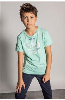 T-shirt T-shirt EIGHTISON Boy S20131B (51761) - DEELUXE-SHOP
