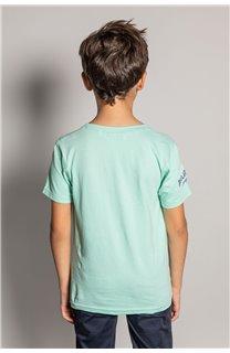 T-shirt T-shirt EIGHTISON Boy S20131B (51762) - DEELUXE-SHOP
