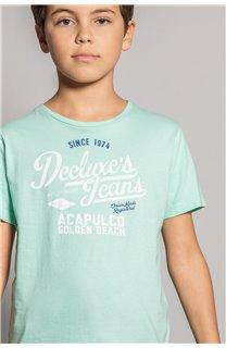 T-shirt T-shirt EIGHTISON Boy S20131B (51763) - DEELUXE-SHOP