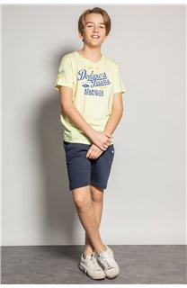T-shirt T-shirt EIGHTISON Boy S20131B (51765) - DEELUXE-SHOP