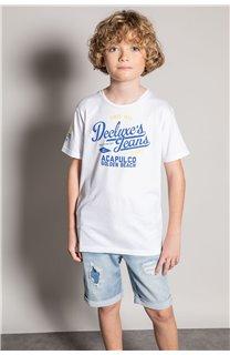 T-shirt T-shirt EIGHTISON Boy S20131B (51769) - DEELUXE-SHOP