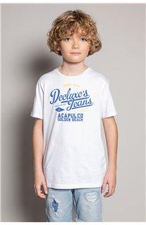 T-shirt T-shirt EIGHTISON Boy S20131B (51771) - DEELUXE-SHOP