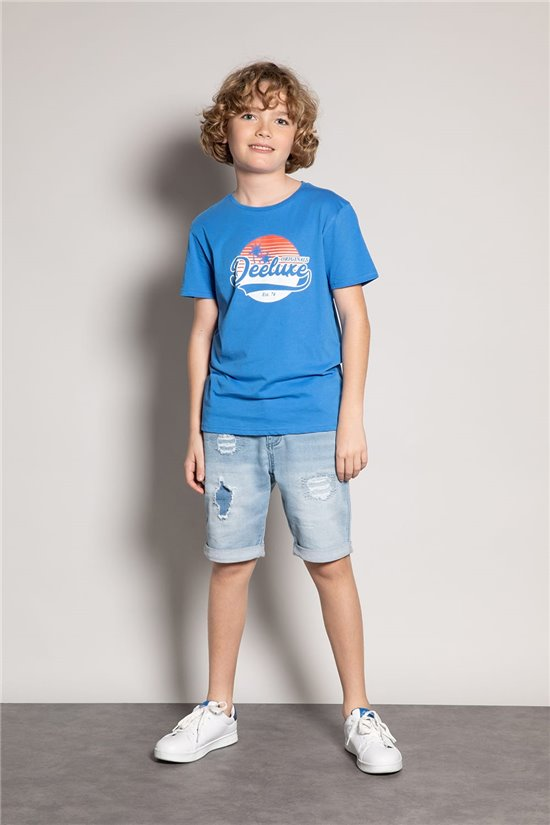 T-shirt T-shirt TRIBU Boy S20193B (51883) - DEELUXE-SHOP