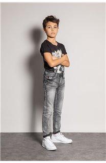Jean JEANS CARLOS Boy JJ8004B (51988) - DEELUXE-SHOP