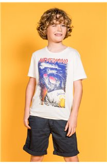 T-shirt DANDITO Boy S20138B (52142) - DEELUXE-SHOP