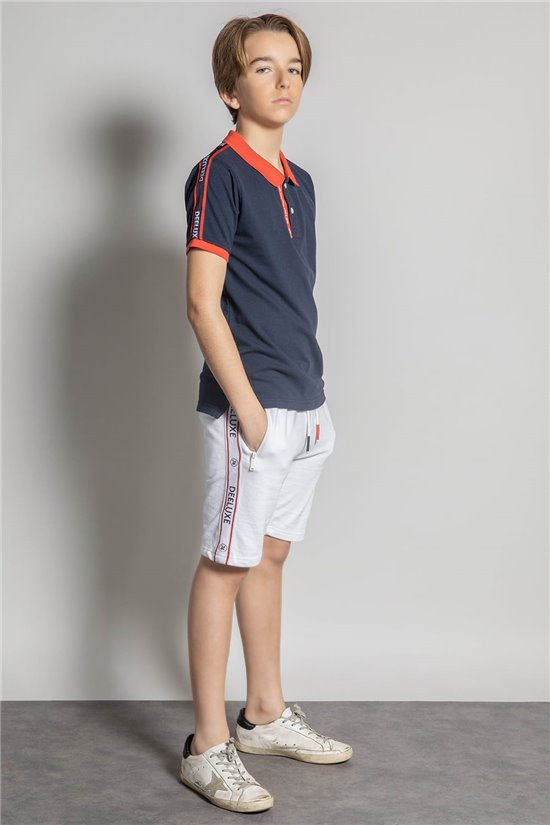 Polo shirt Polo shirt KEN Boy S20216B (52201) - DEELUXE-SHOP