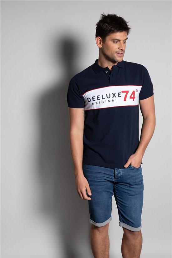 Polo shirt SQUADS Man S20208 (52469) - DEELUXE-SHOP