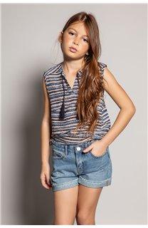 Blouse HANA Girl S20405G (52484) - DEELUXE-SHOP