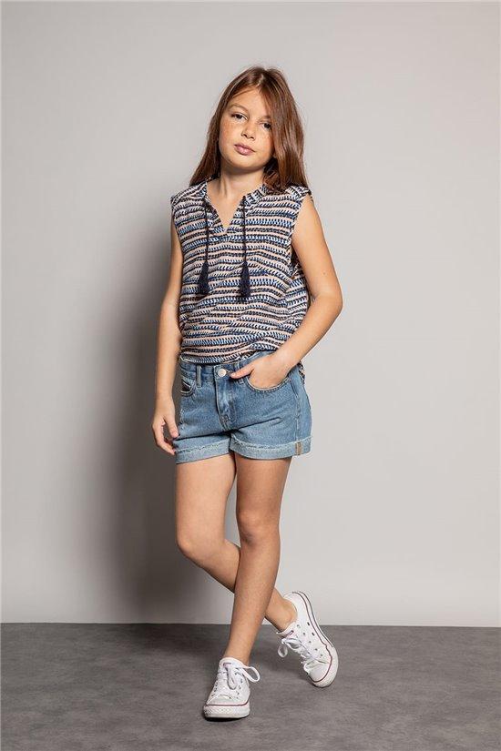Blouse Blouse HANA Girl S20405G (52484) - DEELUXE-SHOP