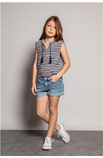 Blouse HANA Girl S20405G (52485) - DEELUXE-SHOP