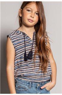 Blouse HANA Girl S20405G (52488) - DEELUXE-SHOP