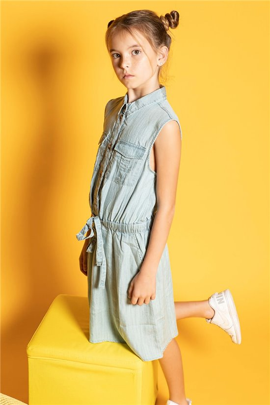 Dress LALI Girl S20220G (52489) - DEELUXE-SHOP
