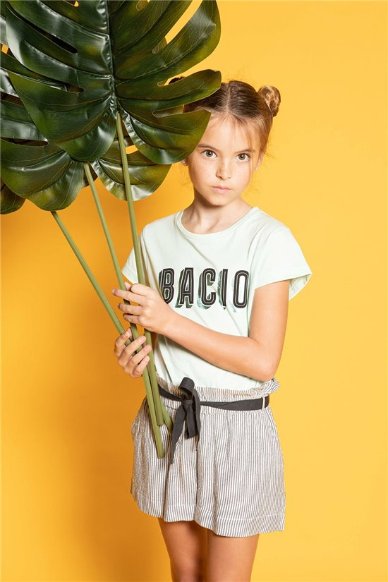 T-shirt BACIO Girl S20125G (52534) - DEELUXE-SHOP