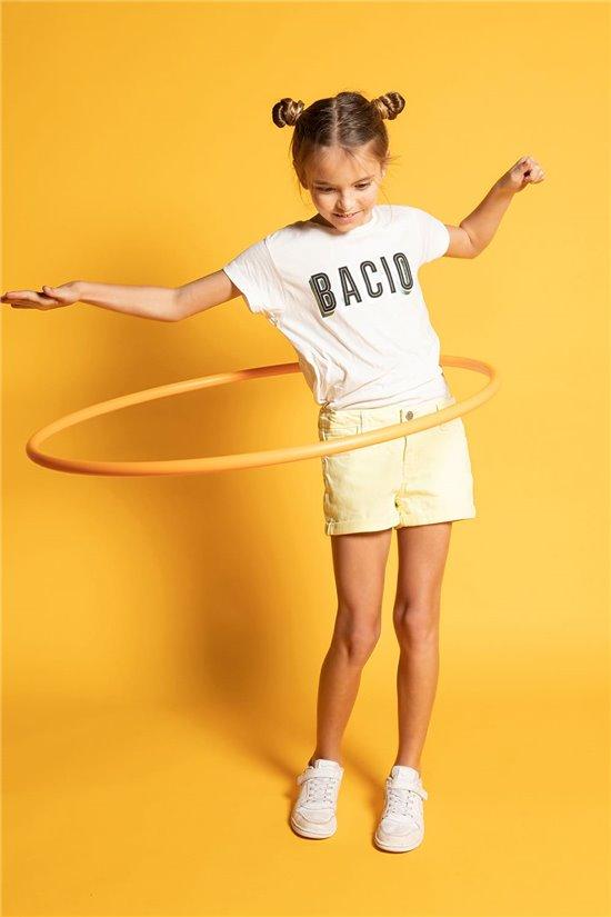 T-shirt T-shirt BACIO Girl S20125G (52534) - DEELUXE-SHOP