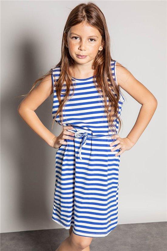 Dress STRIPSTIME Girl S20225G (52569) - DEELUXE-SHOP