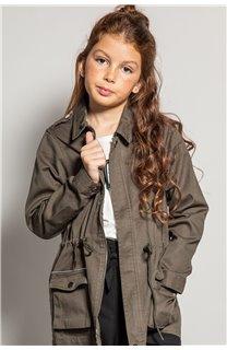 Jacket Jacket SAHRA Girl S20601G (52588) - DEELUXE-SHOP