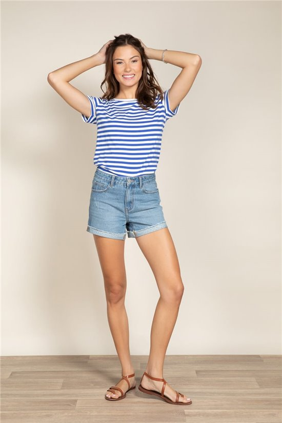 T-shirt T-shirt TRUSTRIPES Woman S20115W (52659) - DEELUXE-SHOP