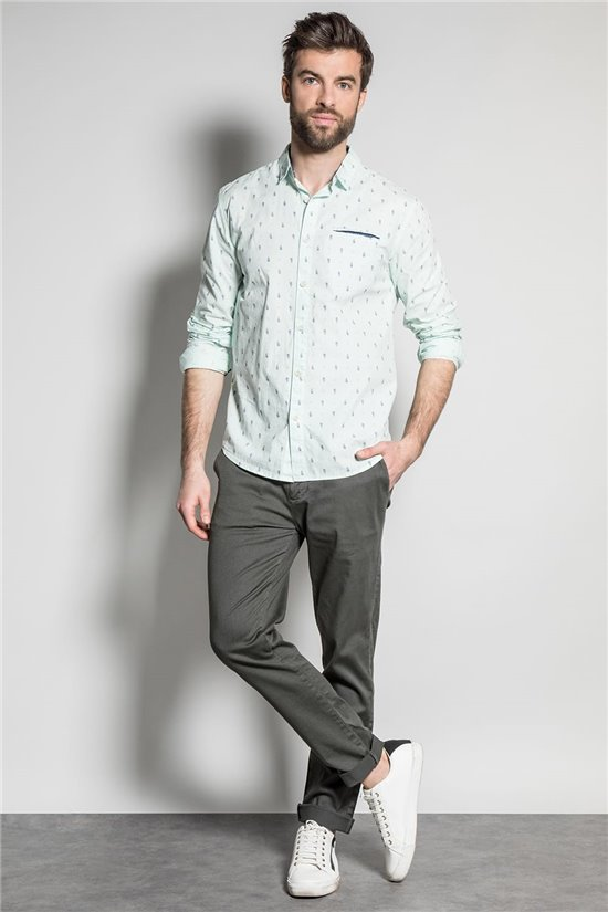 Shirt PAISLEY Man S20422 (52833) - DEELUXE-SHOP