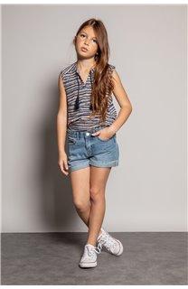 Short DONNA Girl S20J820G (53214) - DEELUXE-SHOP