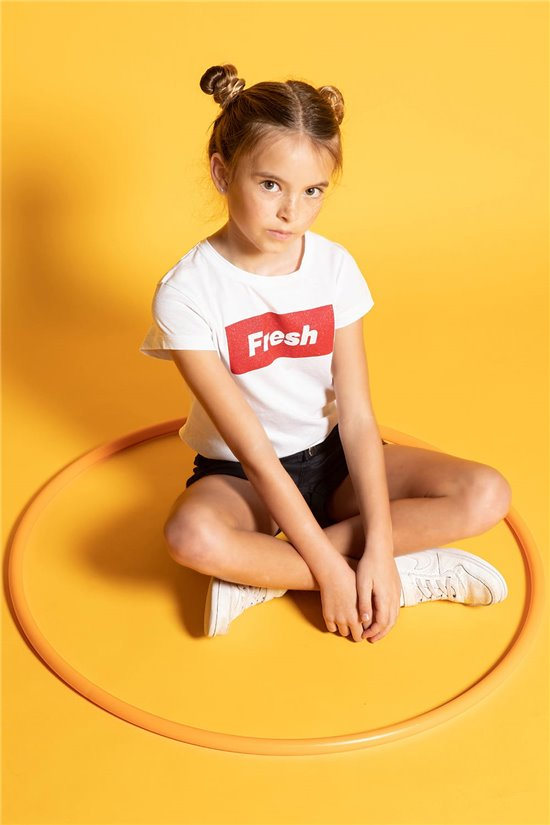 T-shirt FRESH Girl S20135G (53331) - DEELUXE-SHOP